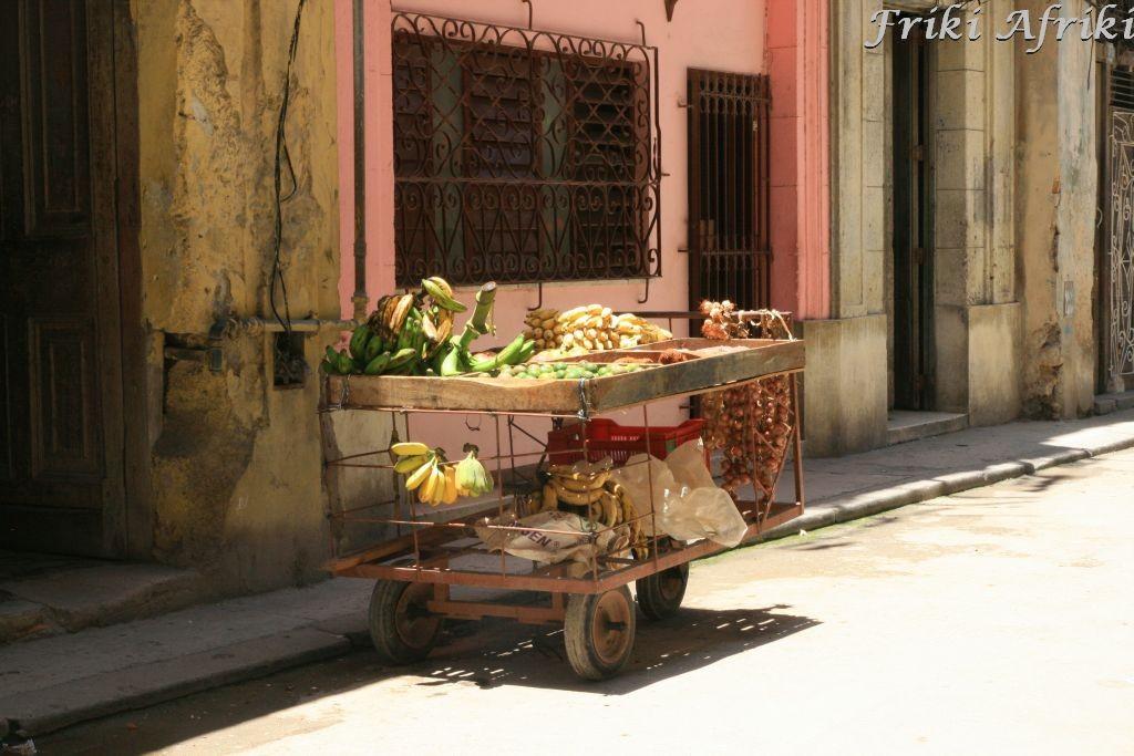 """Sklep"" z owocami, Habana Vieja"