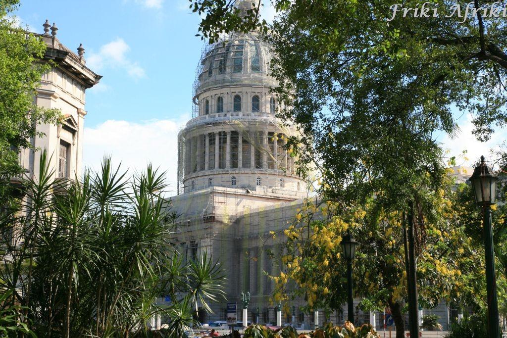 Kapitol - widok z Parku Centralnego