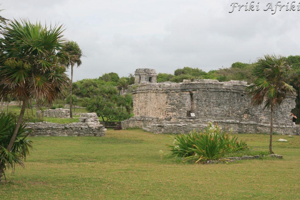 Tulum - widok na ruiny miasta