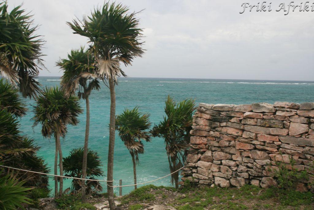 Tulum - mury obronne