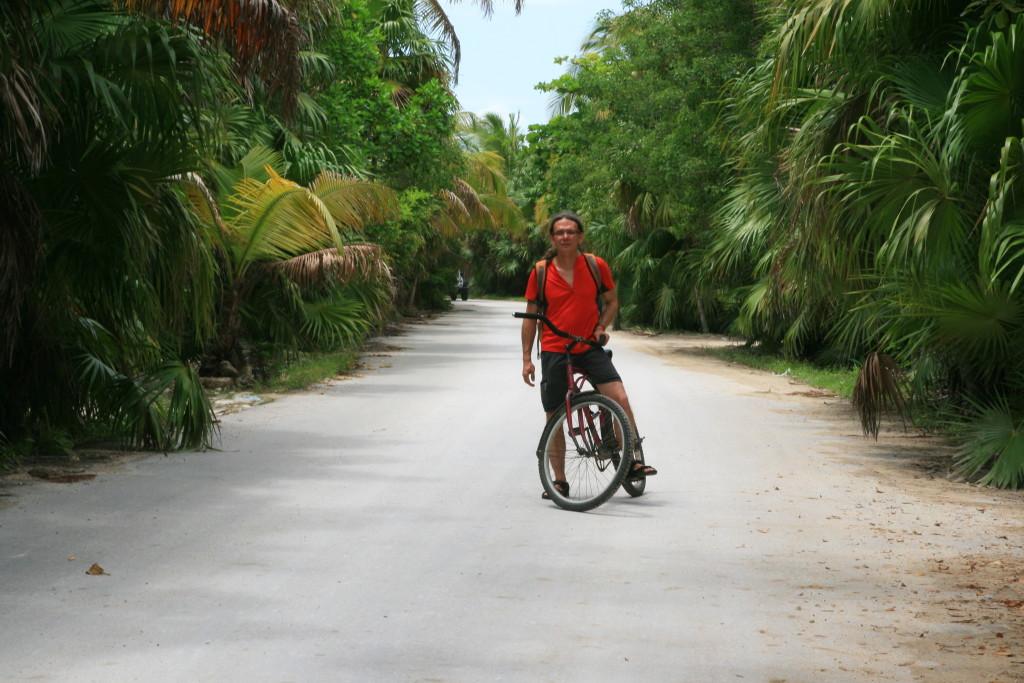 Droga do cenote nie zawsze jest łatwa