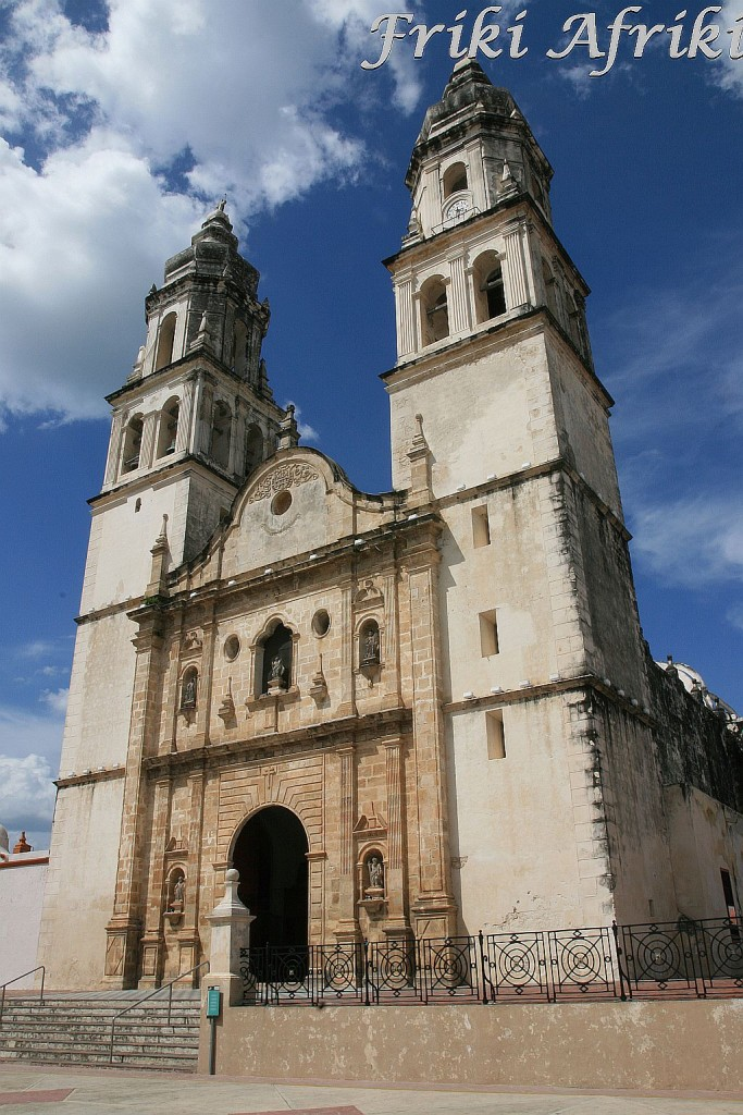 Katedra - Campeche
