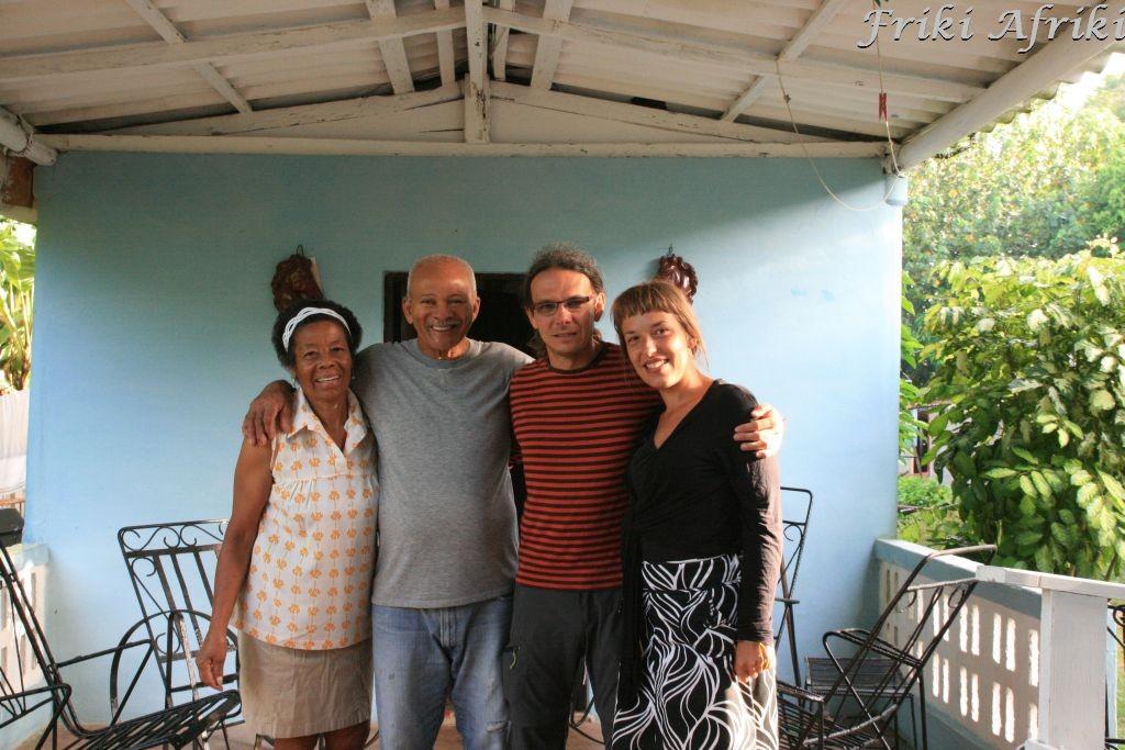 Pani Isabel, pan Mario i my - Vinales