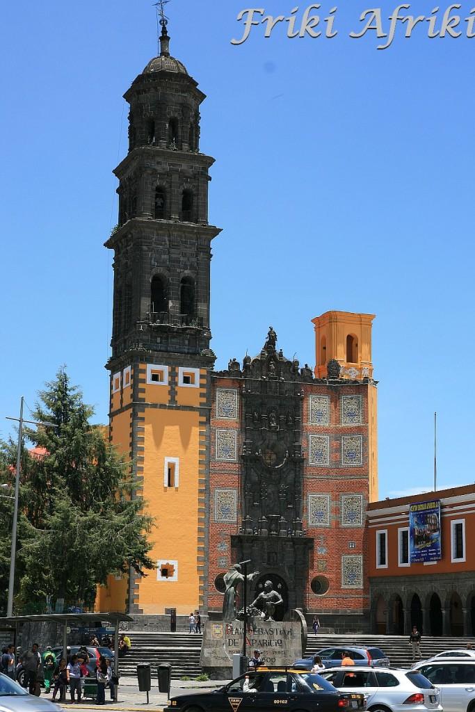 Klasztor św. Franciszka, Puebla