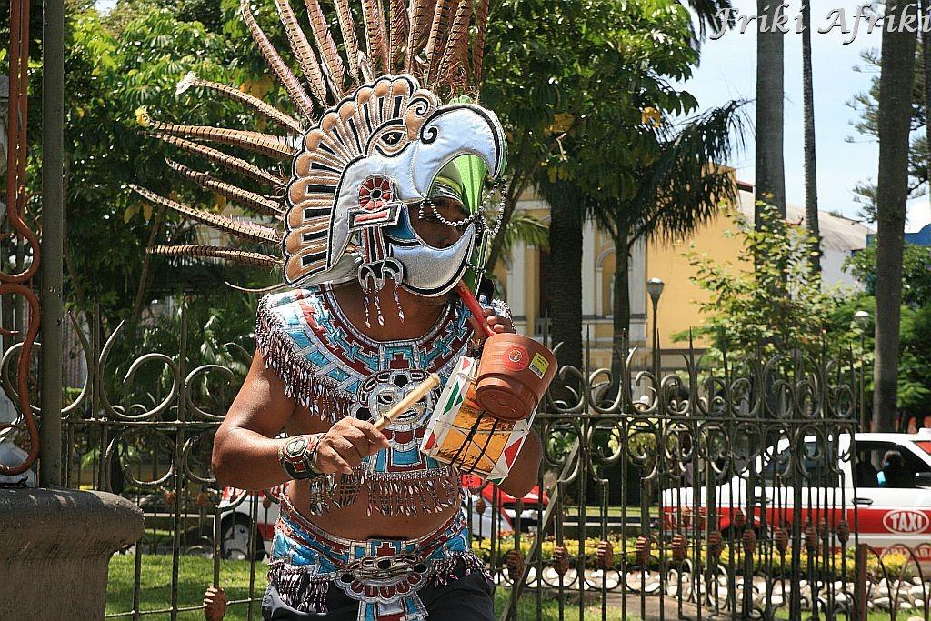 Taniec Miksteków, Orizaba, Meksyk