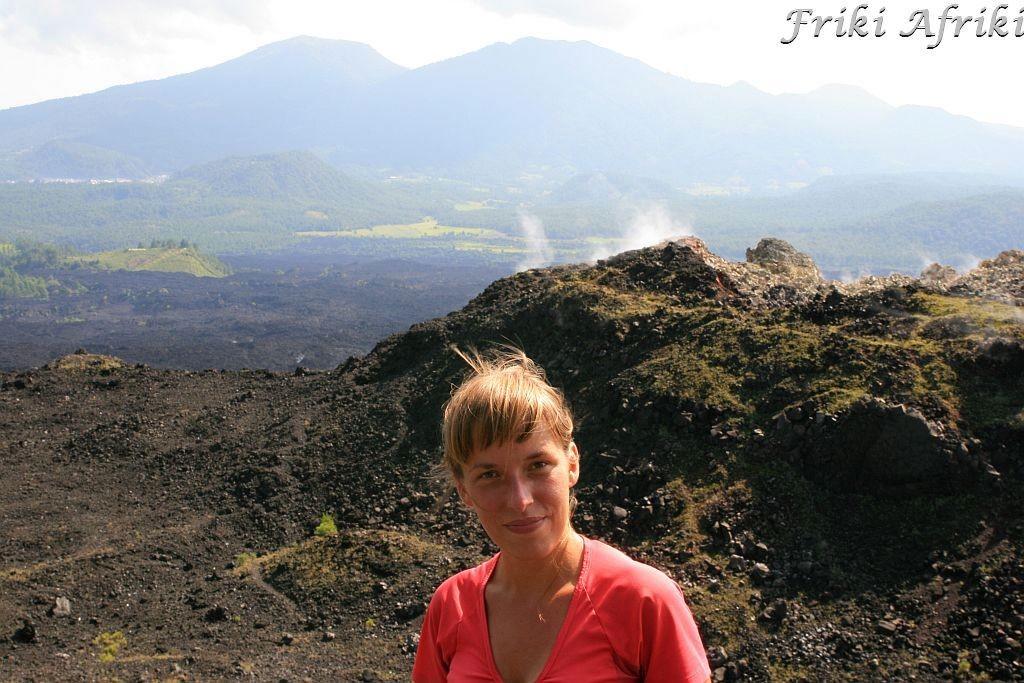 Za Anią mniejszy wulkan