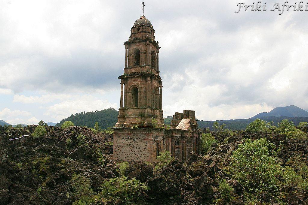 Ruiny kościoła w San Jose