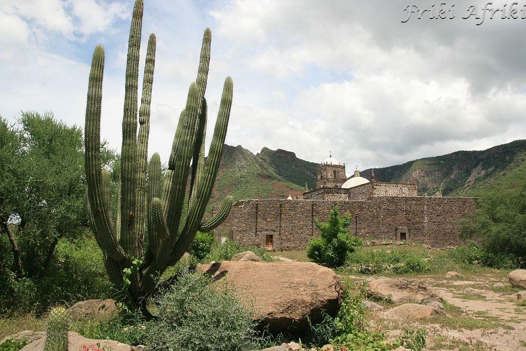 San Javier - kościół misyjny Meksyk