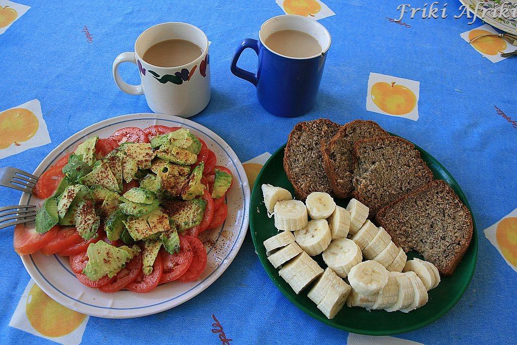 Chleb bananowy - nasze śniadanko