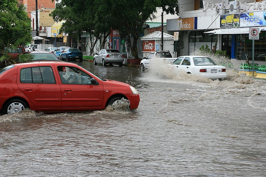 Czasem deszcz - La Paz, Baja California