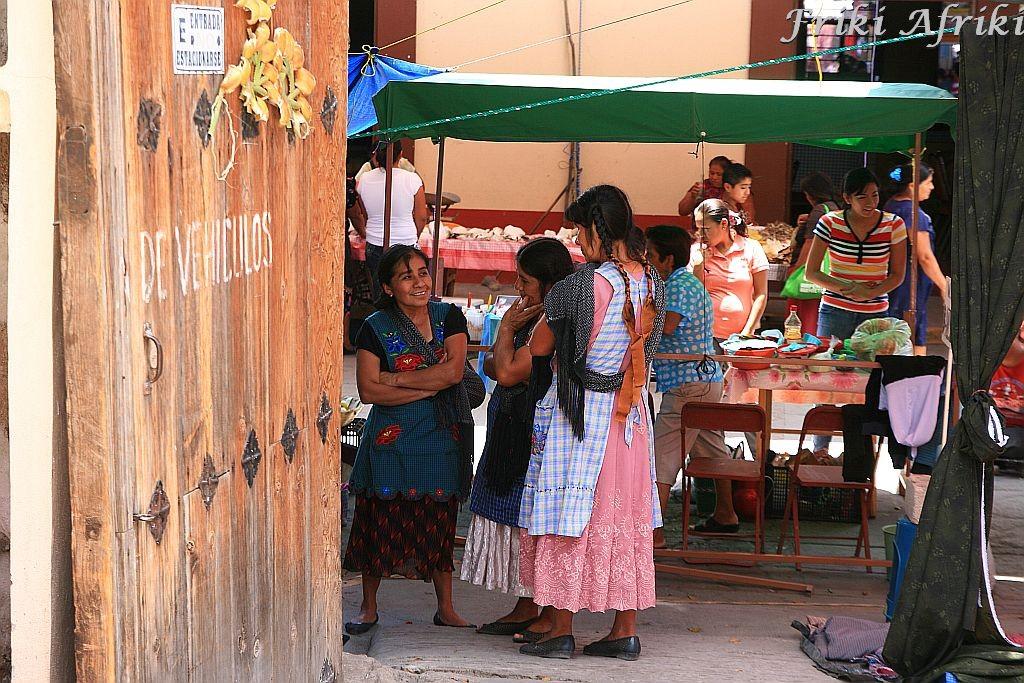 Zapoteckie kobiety, Tlacolula, Meksyk