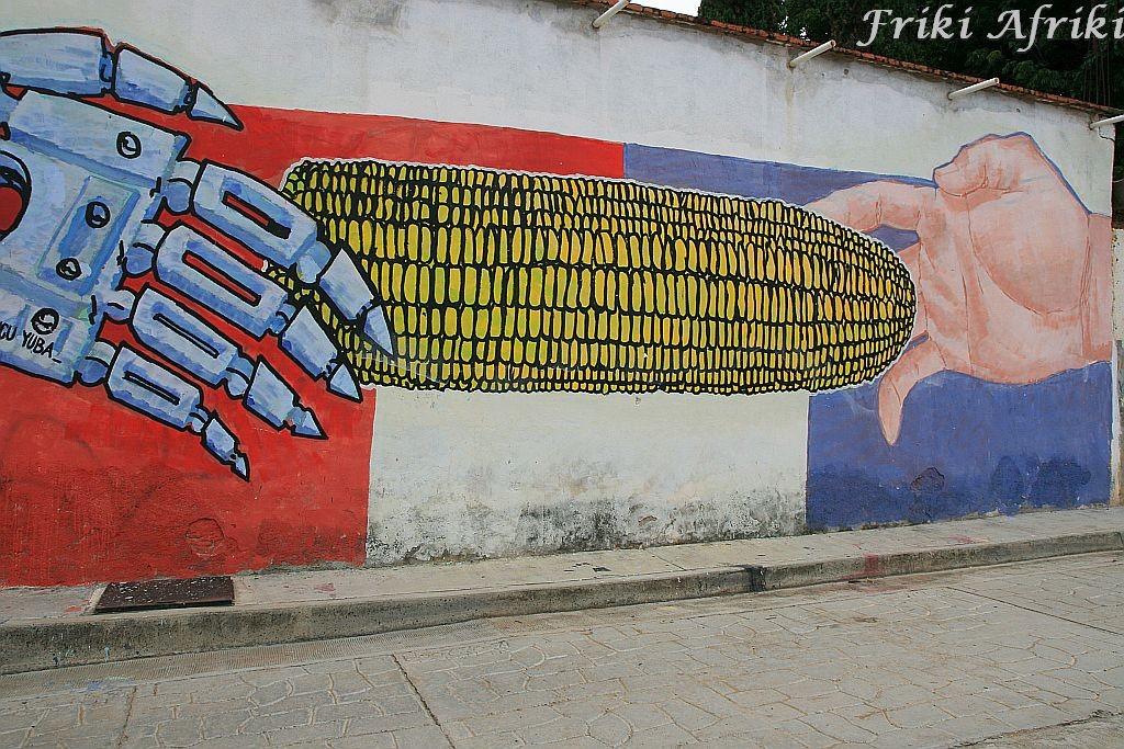 Tlacochauaya - graffiti bywają odjechane