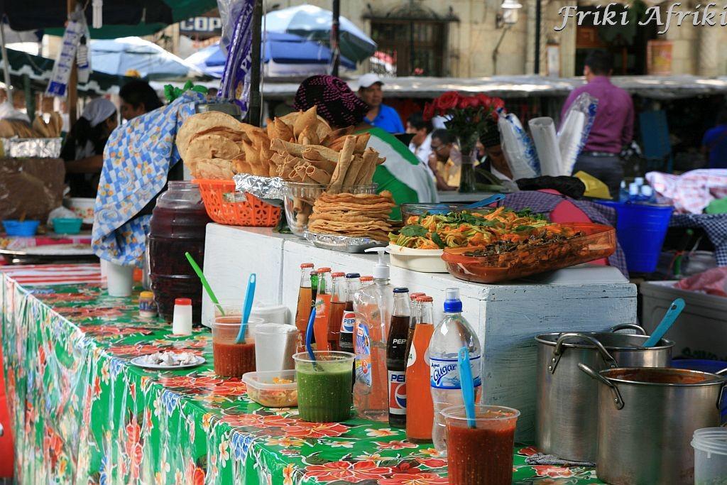 Garkuchnie w Oaxaca