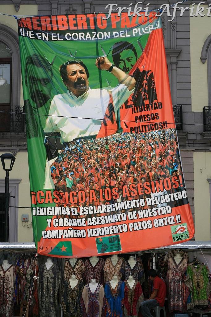 Oaxaca - protest