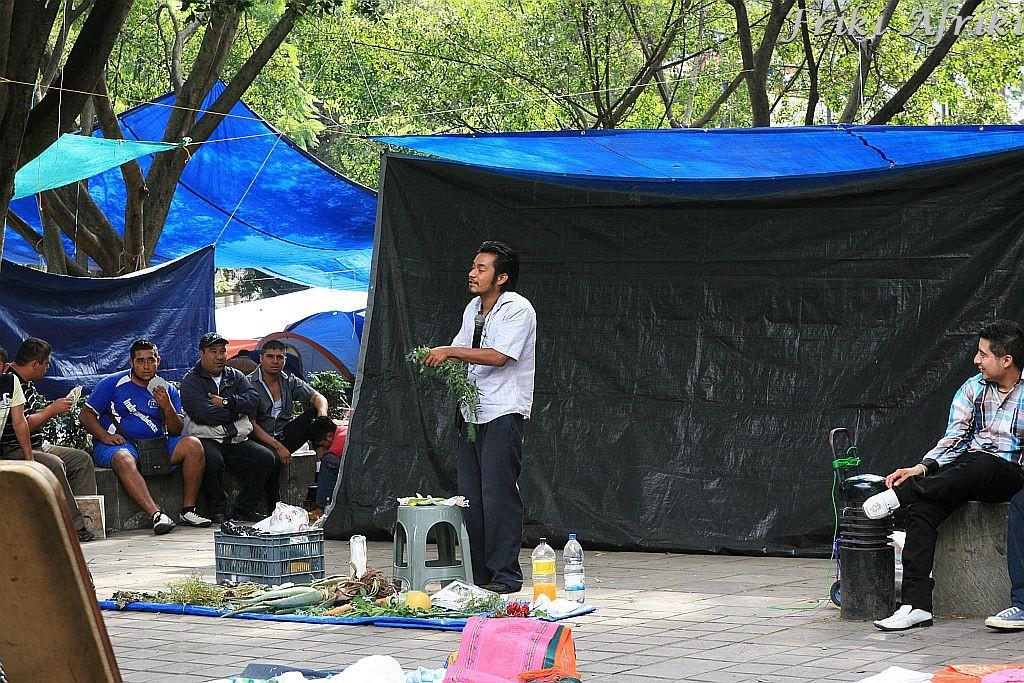 Zielarz - uzdrowiciel w Oaxaca