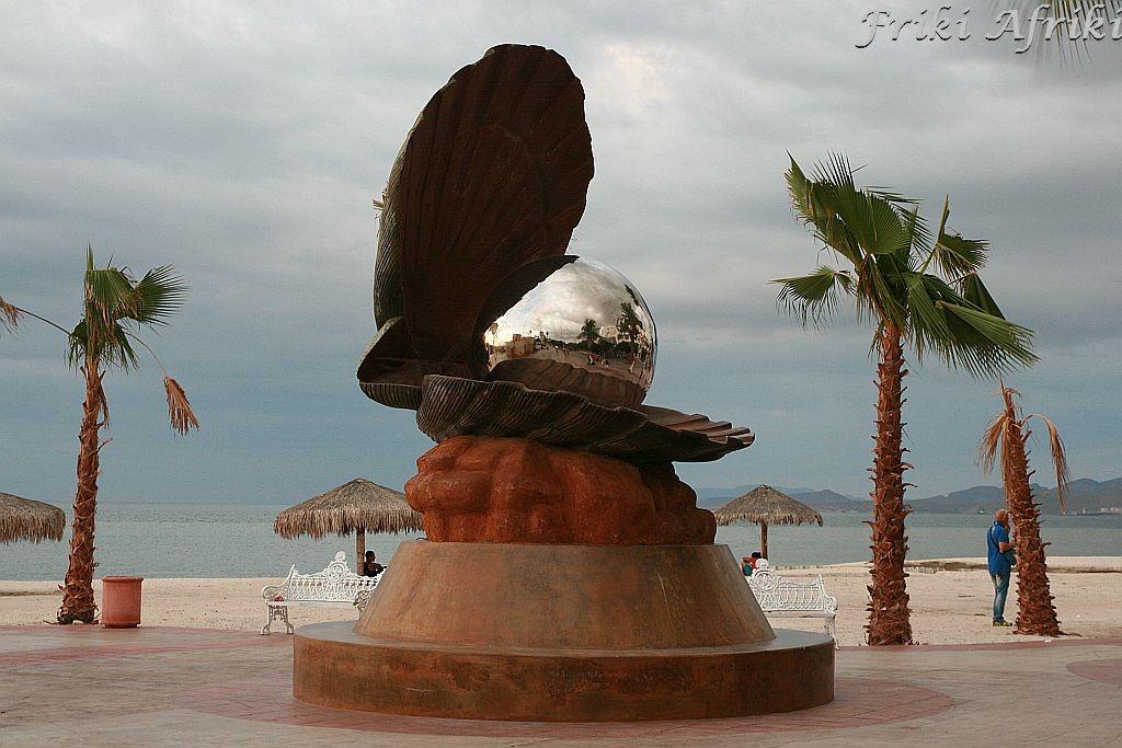Jak oryginalnie! Muszla nad morzem - La Paz