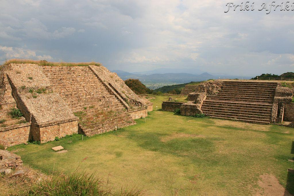 Monte Alban, Oaxaca, Meksyk