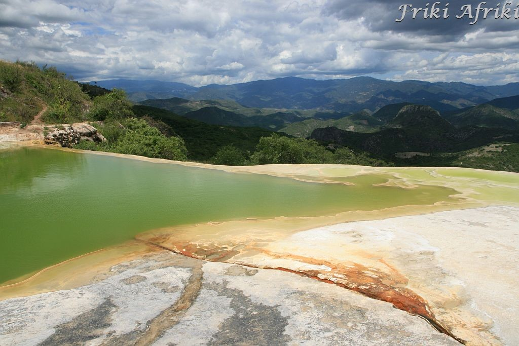 Hierve del Agua, Meksyk