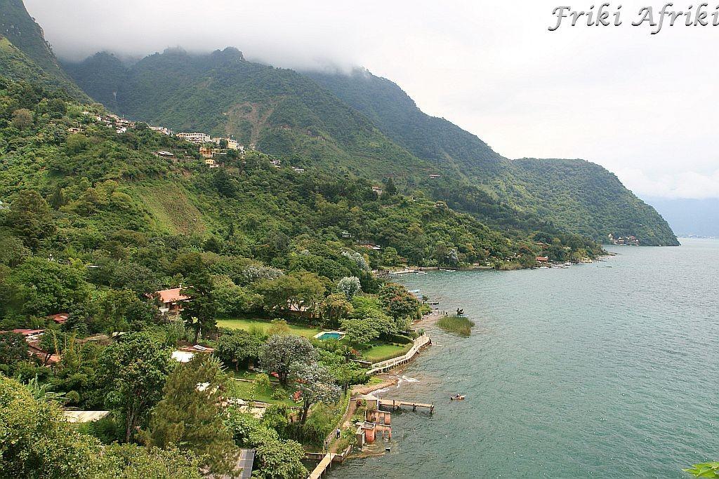 Santa Cruz, Jezioro Atitlan, Gwatemala