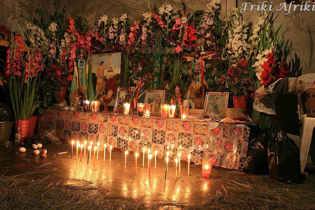 Ołtarz w Choluli, Meksyk