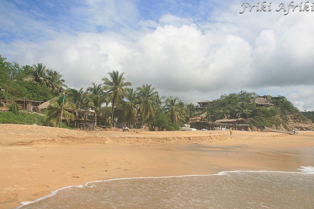 Plaża w Mazunte