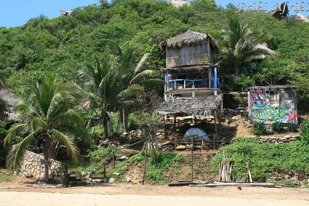 Na plaży w Mazunte