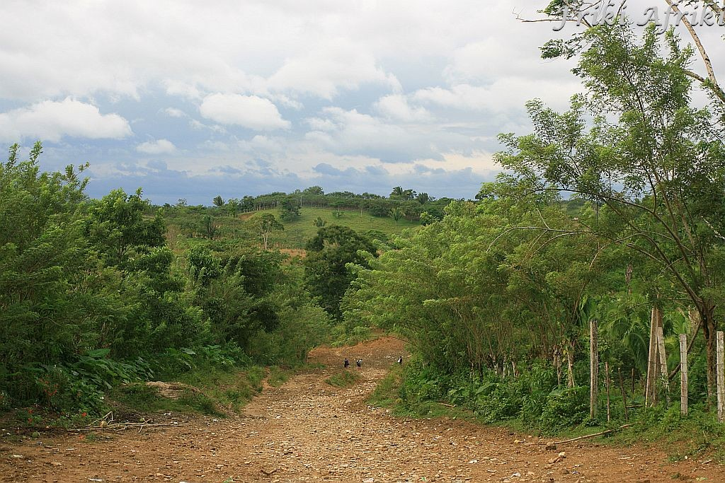 Droga do nielegalnego przejścia Gwatemali