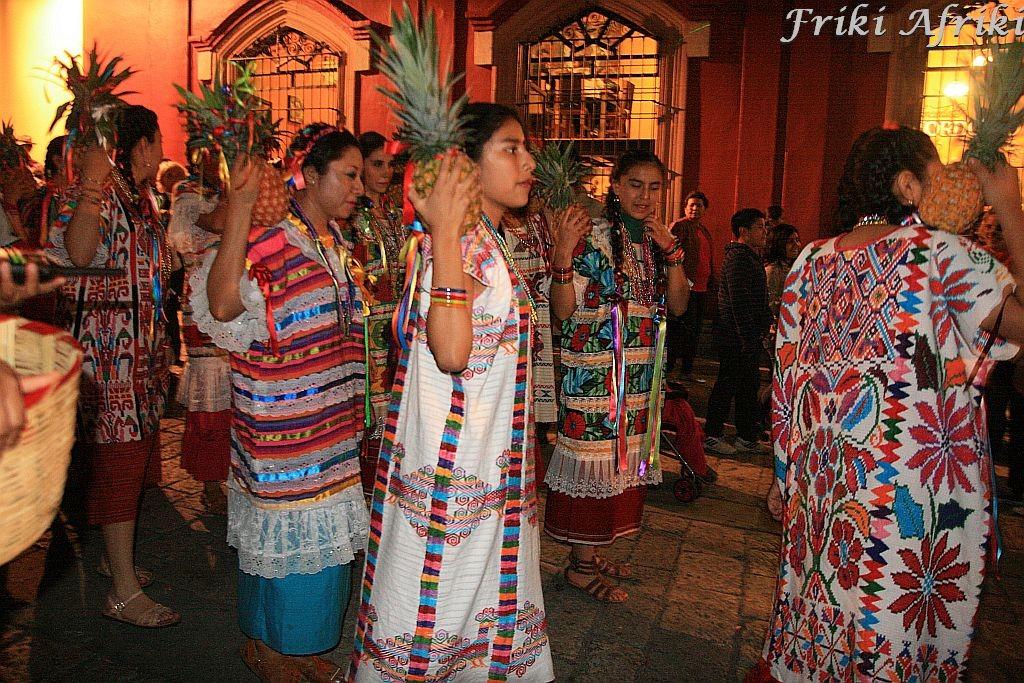Zapoteka, Oaxaca podczas Dnia Zmarłych, Meksyk
