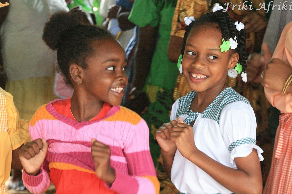 Garifuńskie dziewczynki w Hopkins, Belize