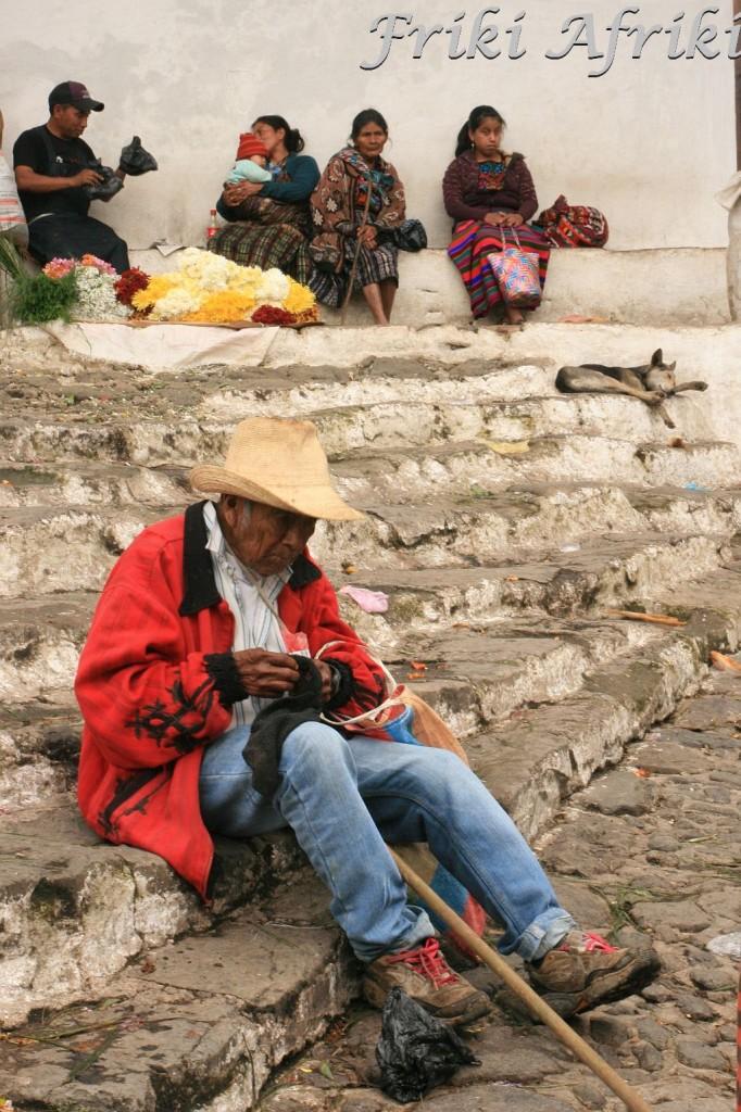 Majowie, cicicastenango, Gwatemala