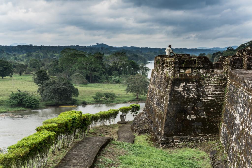 El Castillo - niewielka forteca, która miała chronić przed napadami piratów