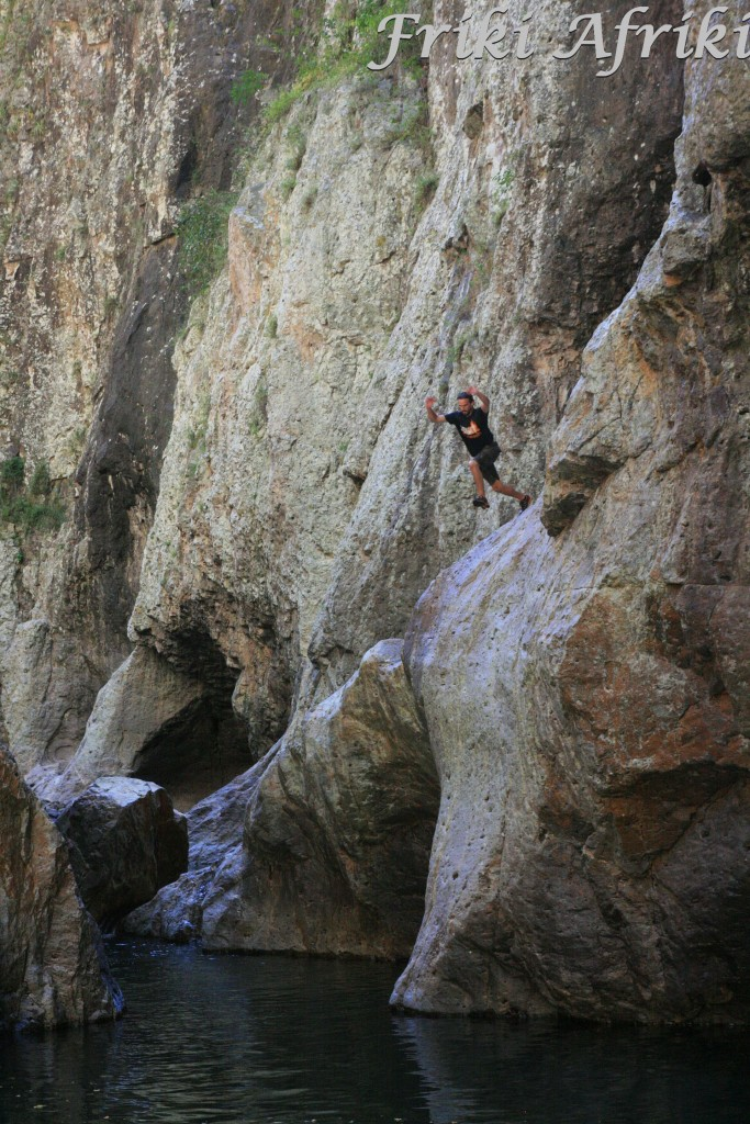 Skoki ze skały