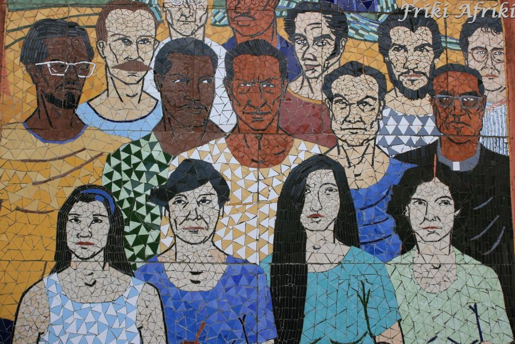 Mozaika w Muzeum Legend i Tradycji