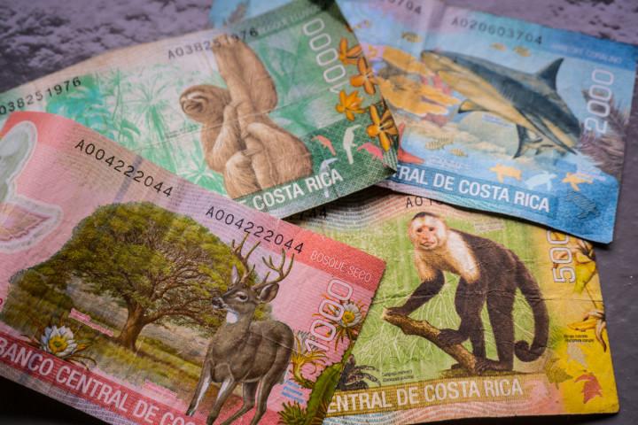 Kostaryka ma najładniejsze pieniądze! Szkoda, że tak szybko znikają