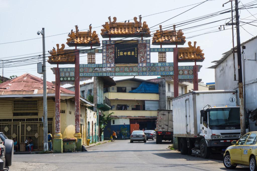 Wejście do chińskiej dzielnicy
