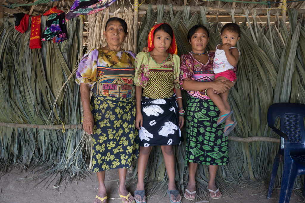 Trzy pokolenia kobiet