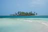 Turystyczna wysepka do plażowania