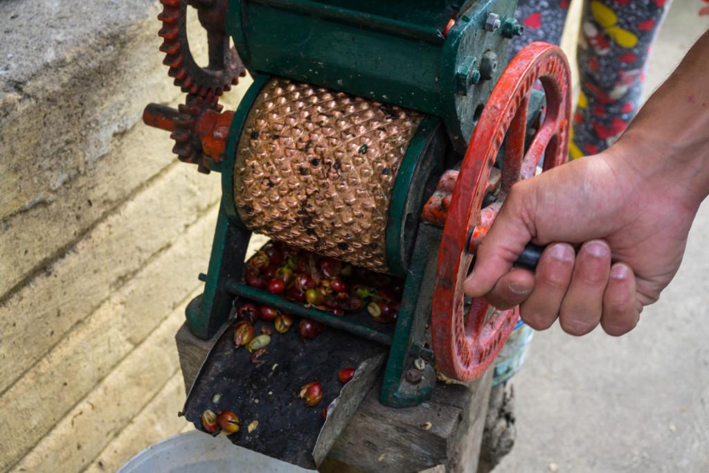 Ręczna maszyna do ściągania skórki z owoców