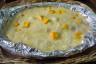 Pstrąg w sosie z mango