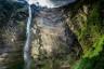 Dolna kaskada Wodospadu Gocta ma 540 metrów, całość 771 metrów